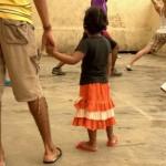 Seorang anak yang ditampung di Rudenim