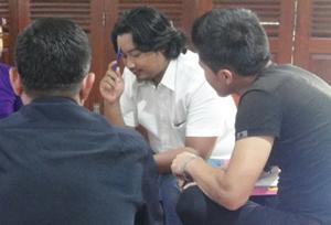 Gading bersama Pencari Suaka dalam Workshop Pendidikan Nilai
