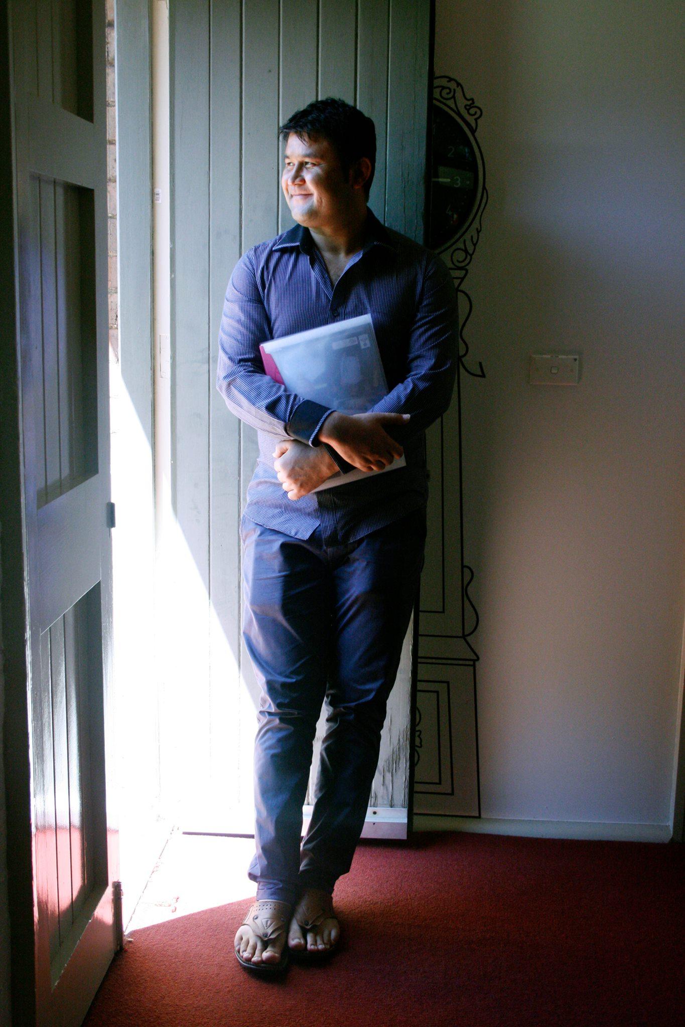 Keyhand Farahmand Photo oleh of Verity Chambers/Sydney TAFE Media