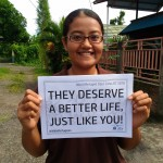 Grace, Information Advocacy Officer for JRS Manado