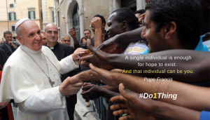 PopeFrancis Do1thing